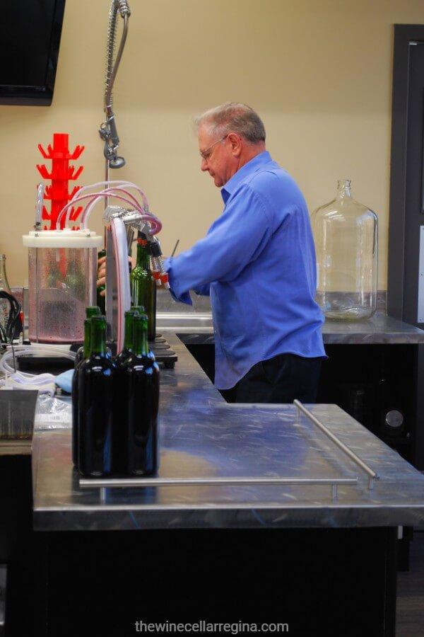 bottling station