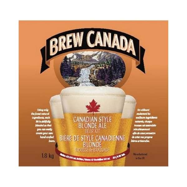 Brew Canada Blonde Ale
