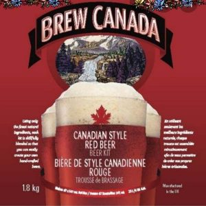 Brew Canada Canadian Red Beer
