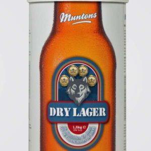 muntons dry lager