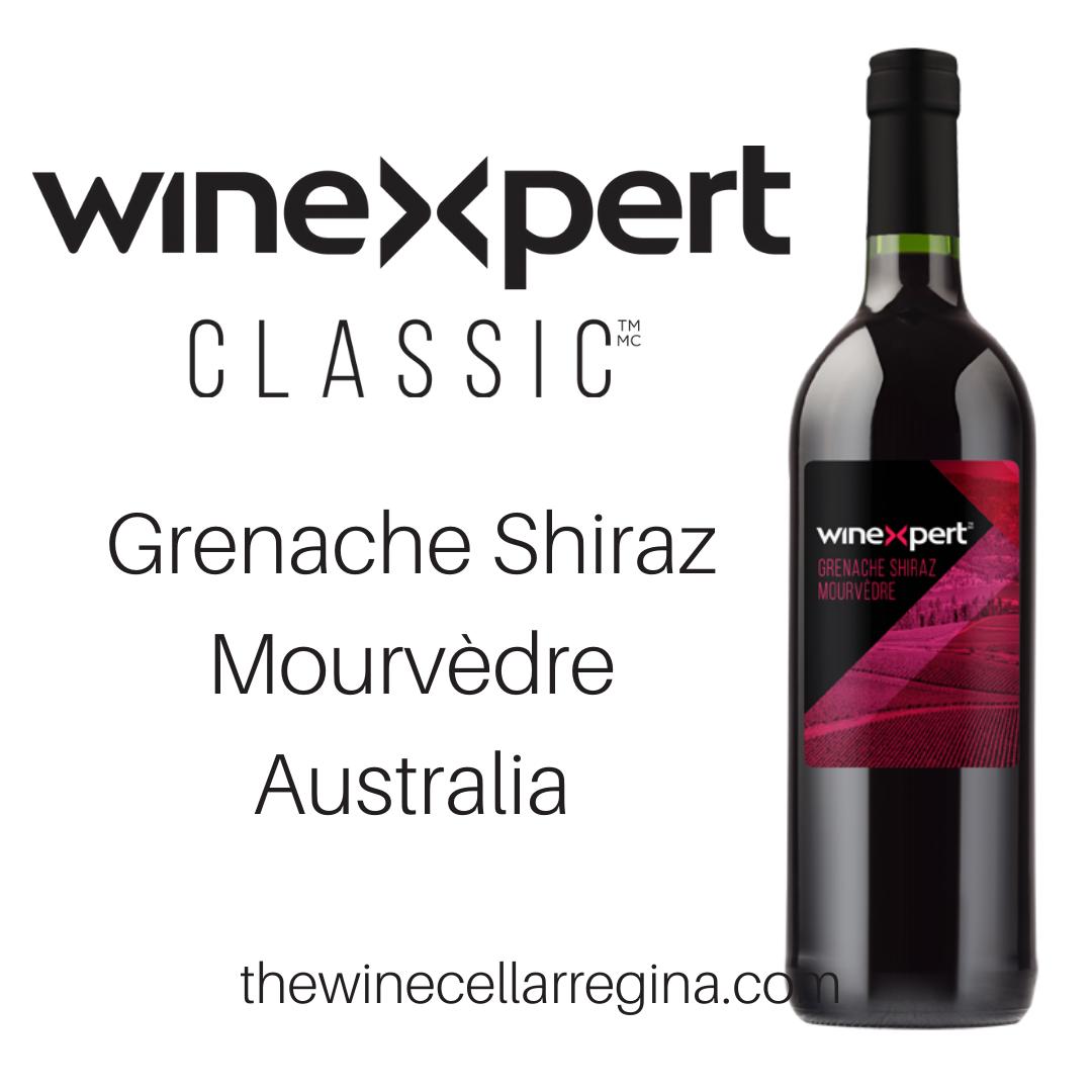 Classic Grenache Shiraz Mourvèdre Australia Wine Kit.
