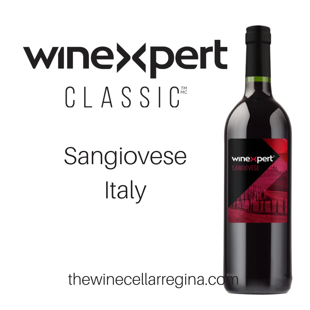 Classic Sangiovese Italy Wine Kit.