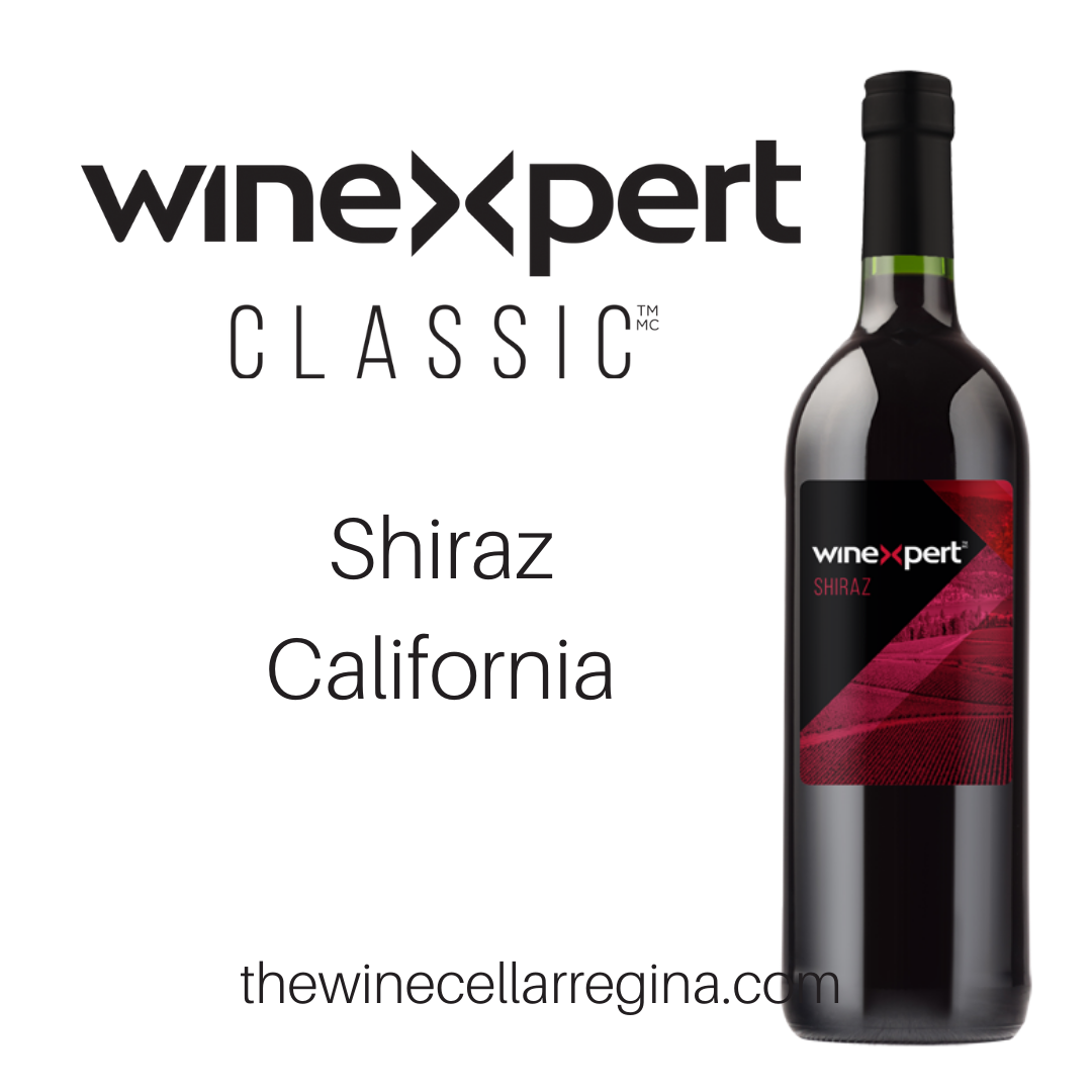 Classic Shiraz California Wine Kit.