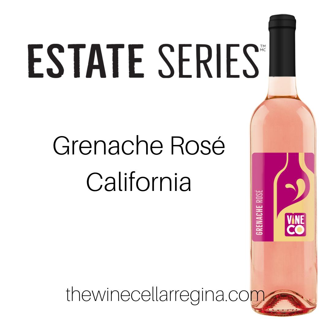Estate Series Grenache Rose Wine Kit.