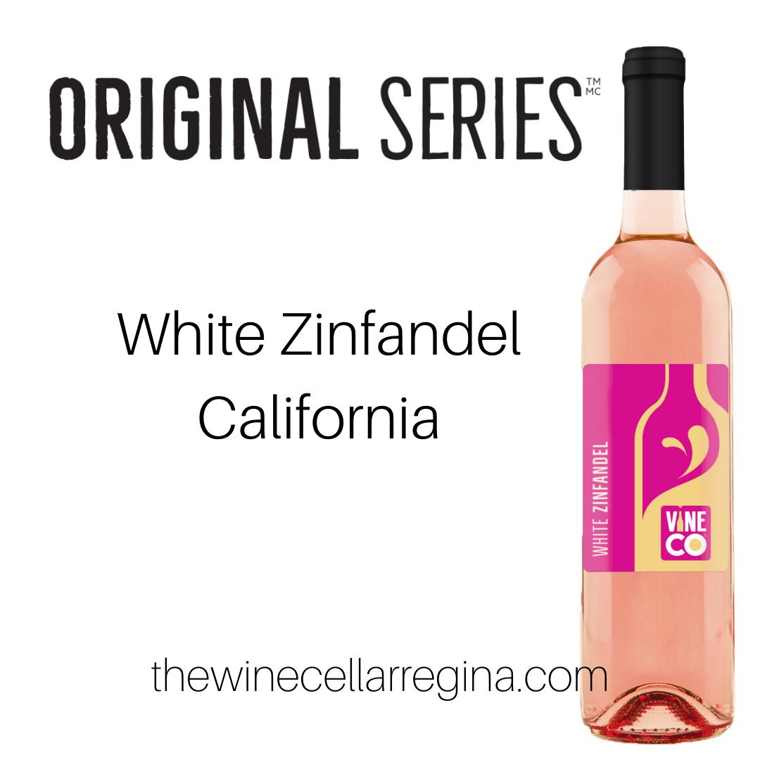 Original Series White Zinfandel California Wine Kits.