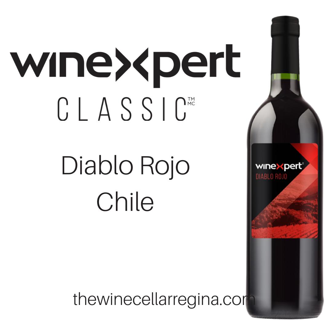 Classic Diablo Rojo Chile Wine Kit.