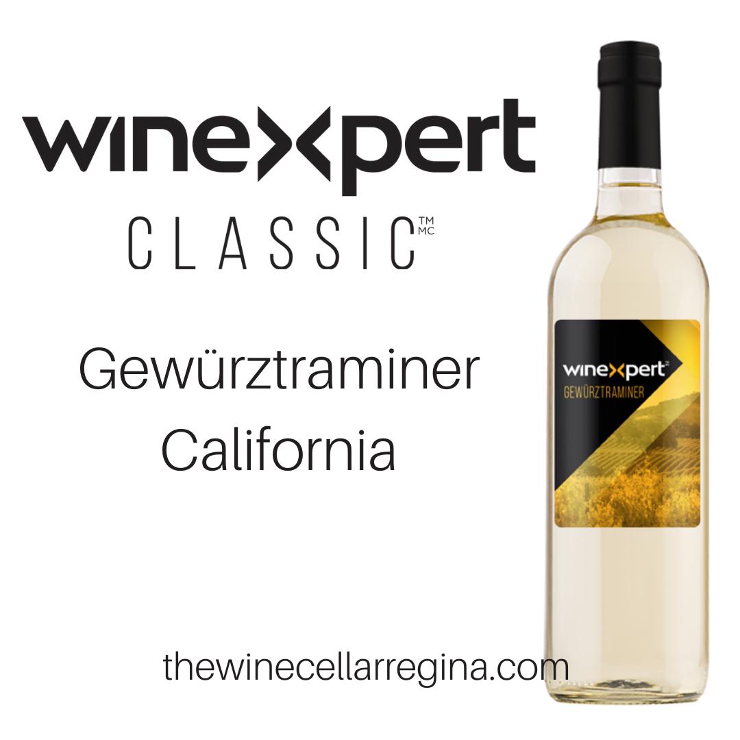 Classic Gewürztraminer California Wine Kit.