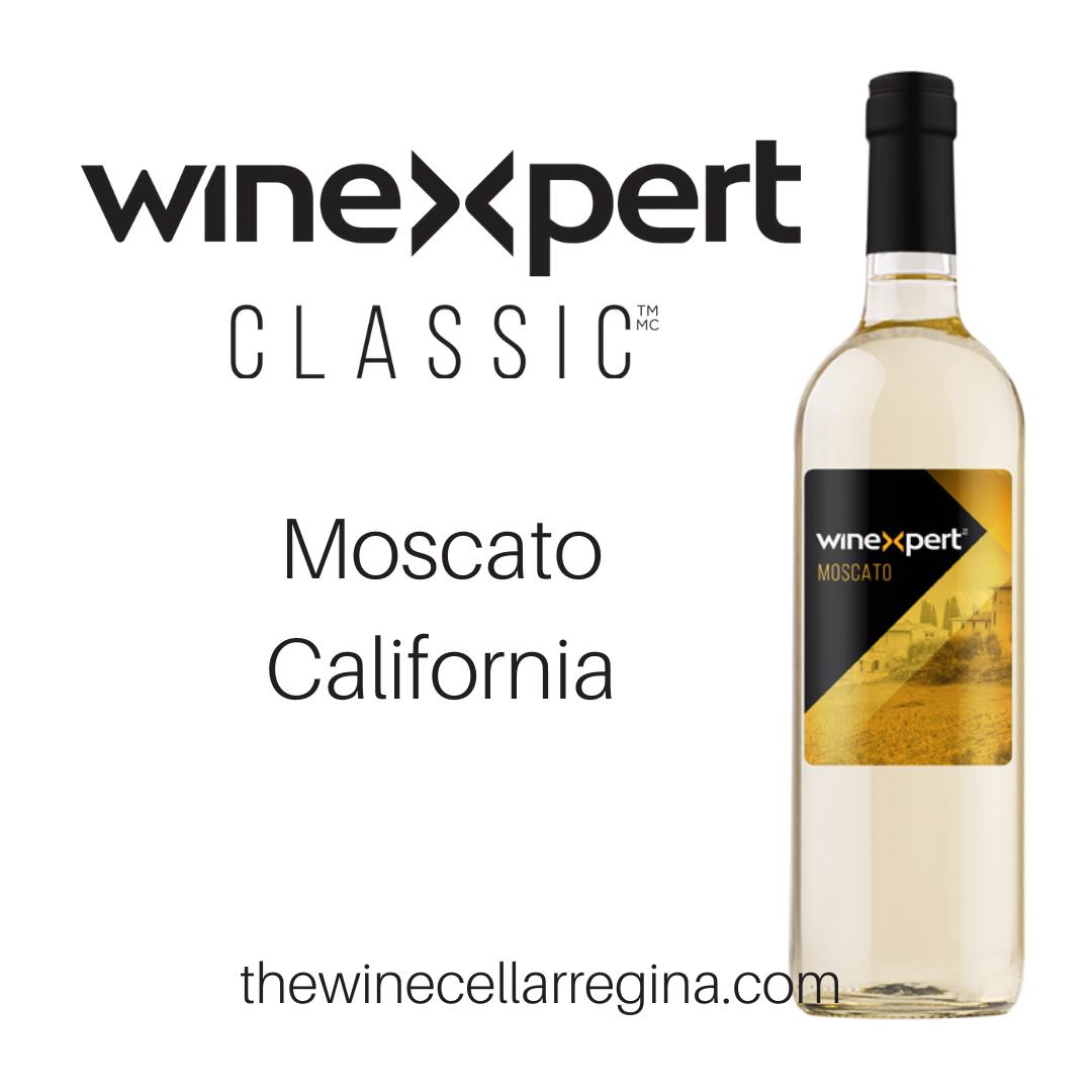 Classic Moscato California Wine Kit.