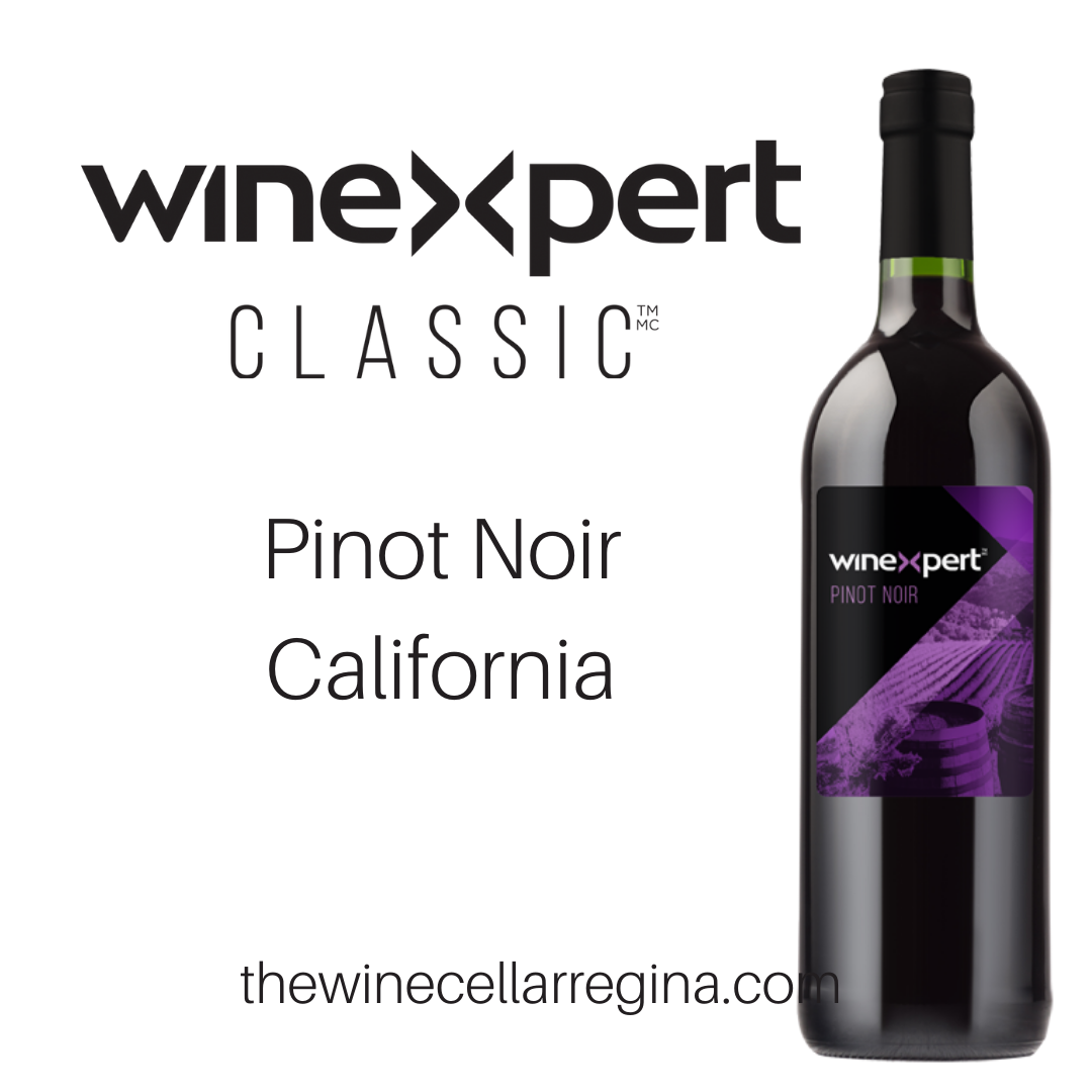 Classic Pinot Noir California Wine Kit.