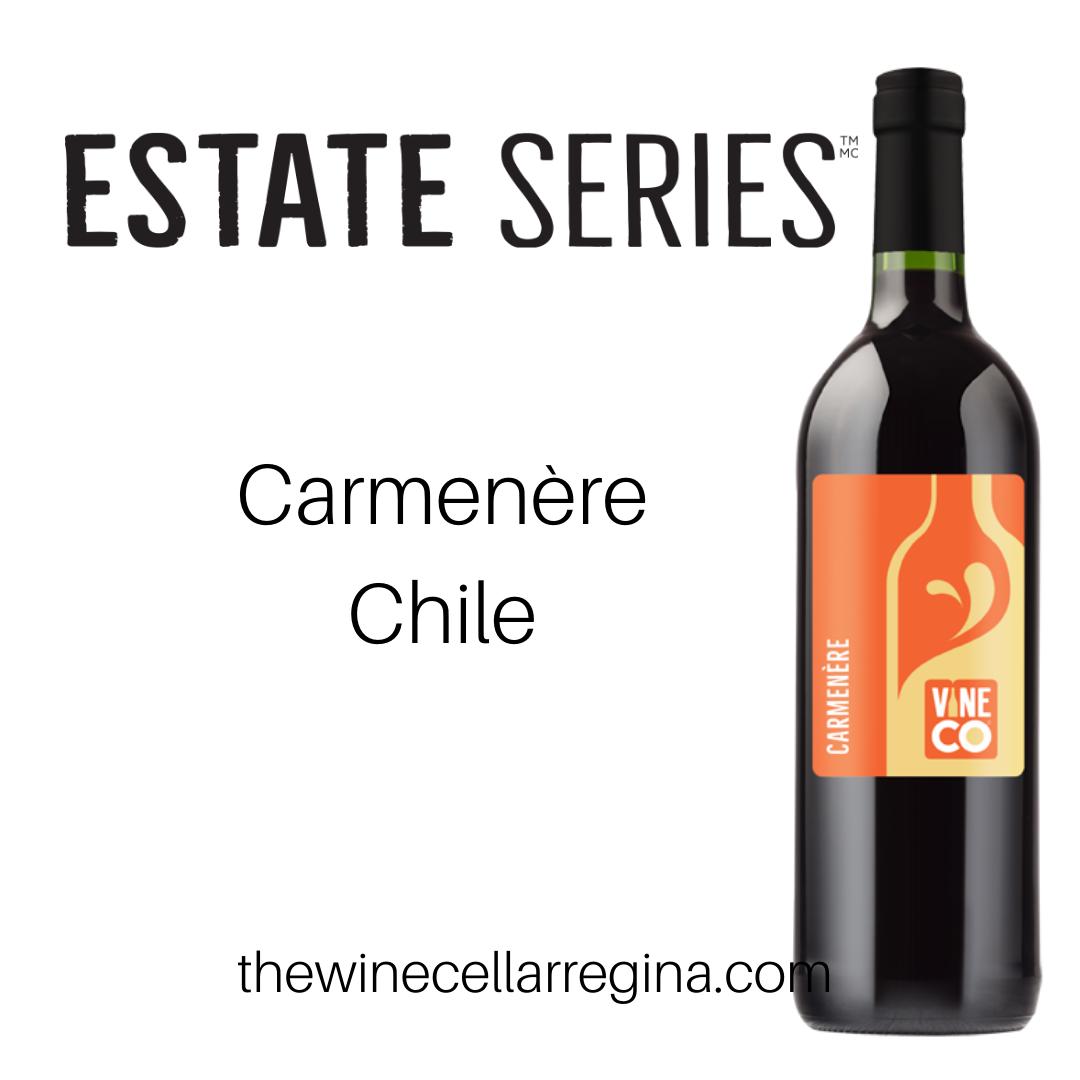 Estate Series Carmemère Chile Wine Kit.