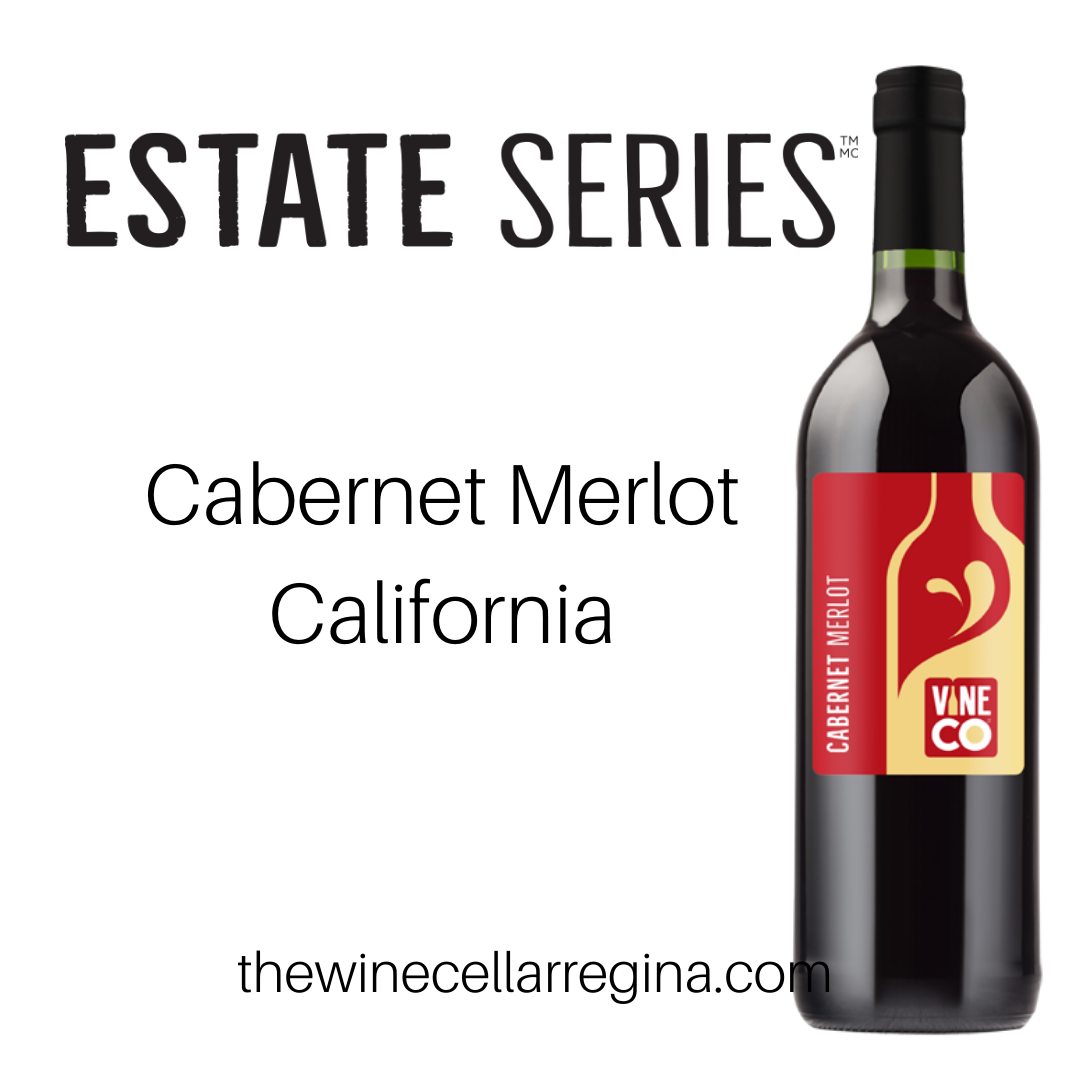 Estate Series Cabernet Merlot California Wine Kit.