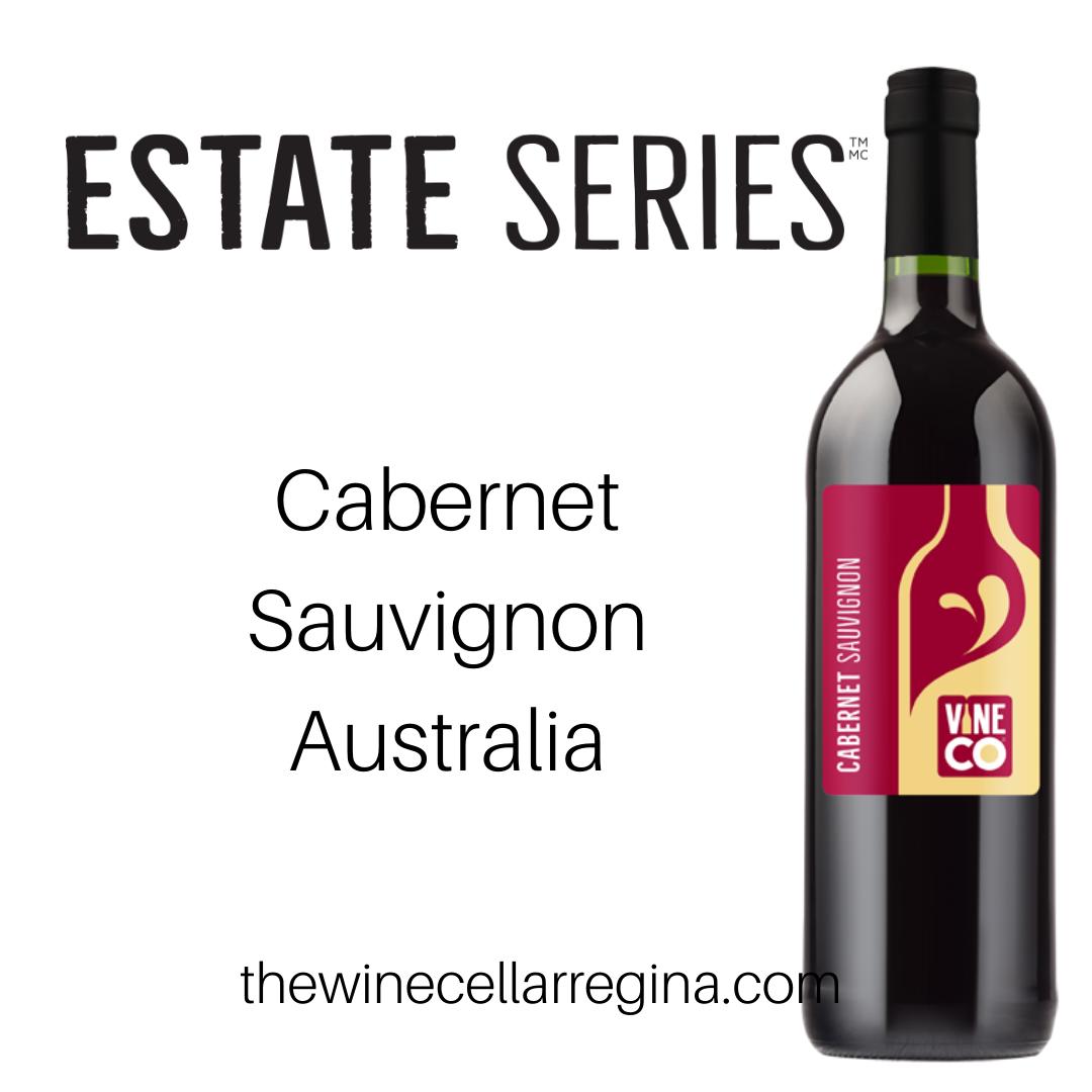 Estate Series Cabernet Sauvignon Australia Wine Kit.