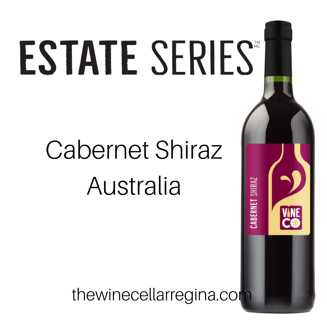 Estate Series Cabernet Shiraz Australia Wine Kit.