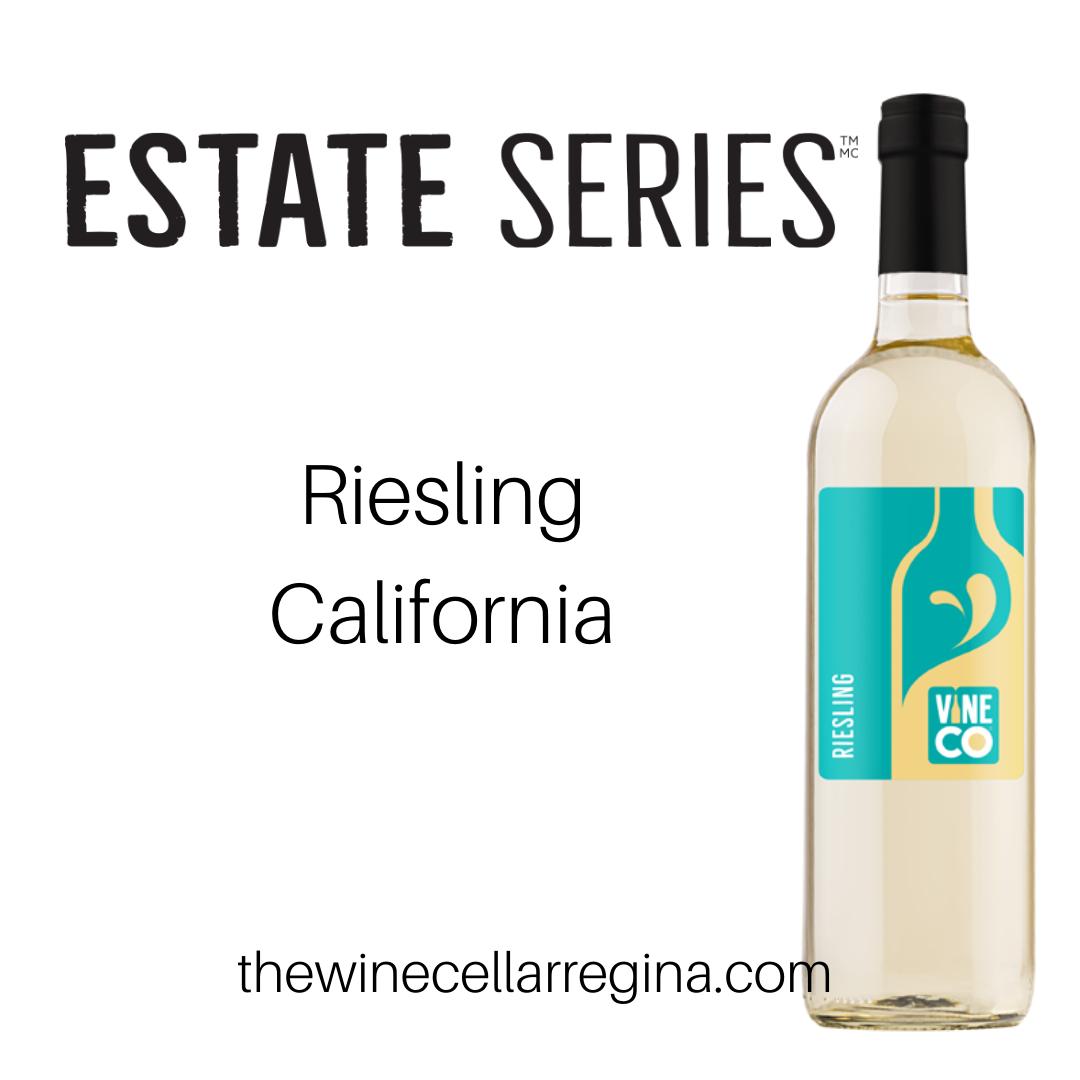 Estate Series Riesling California Wine Kit.