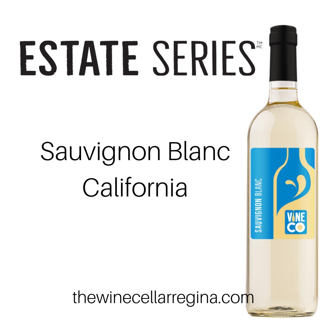 Estate Series Sauvignon Blanc California Wine Kit.