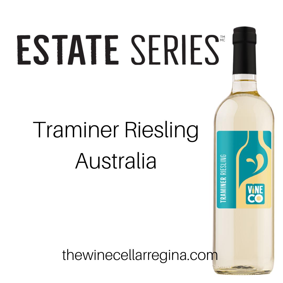 Estate Series Traminer Riesling Australia Wine Kit.