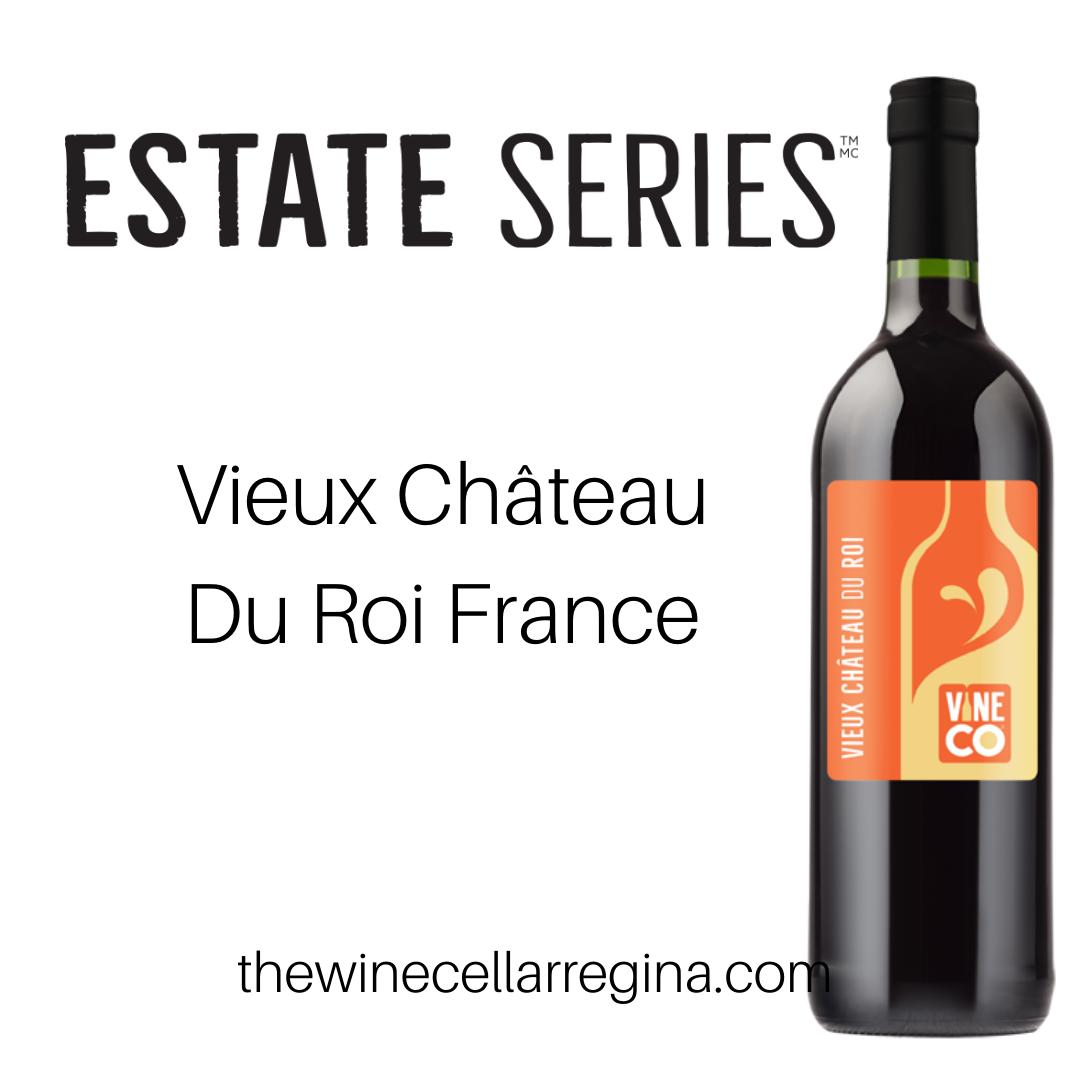 Estate Series Vieux Château Du Roi France Wine Kit.
