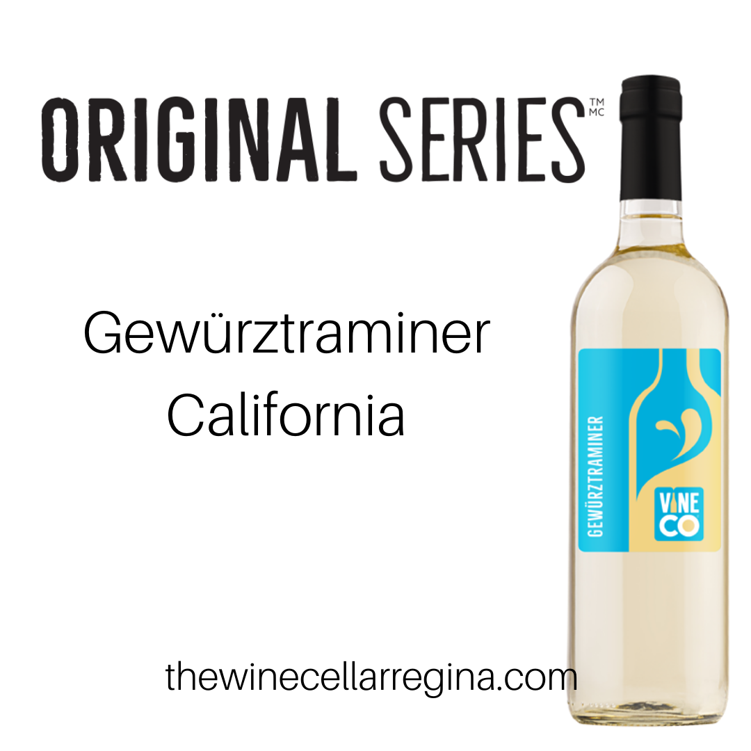 Original Series Gewürztraminer California Wine Kit.