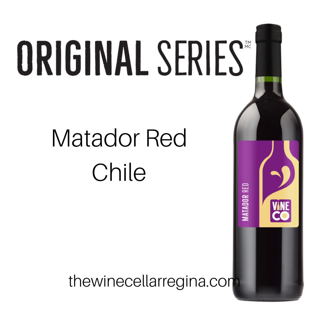 Original Series Matador Red Chile Wine Kit.