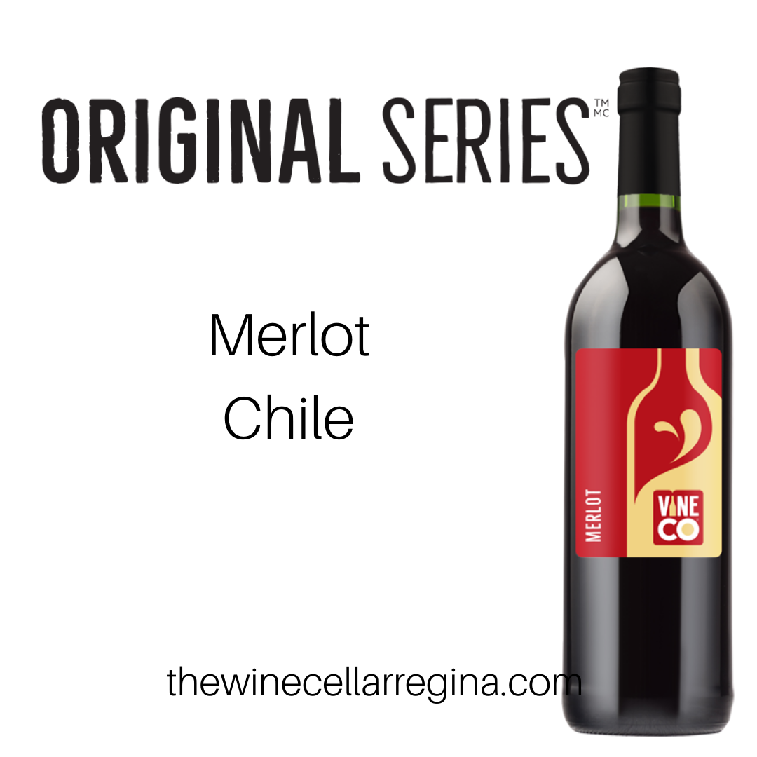 Original Series Merlot Chile Wine Kit.