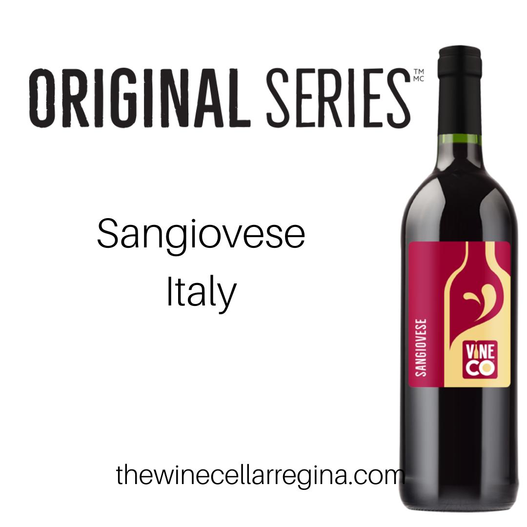 Original Series Sangiovese Italy Wine Kit.
