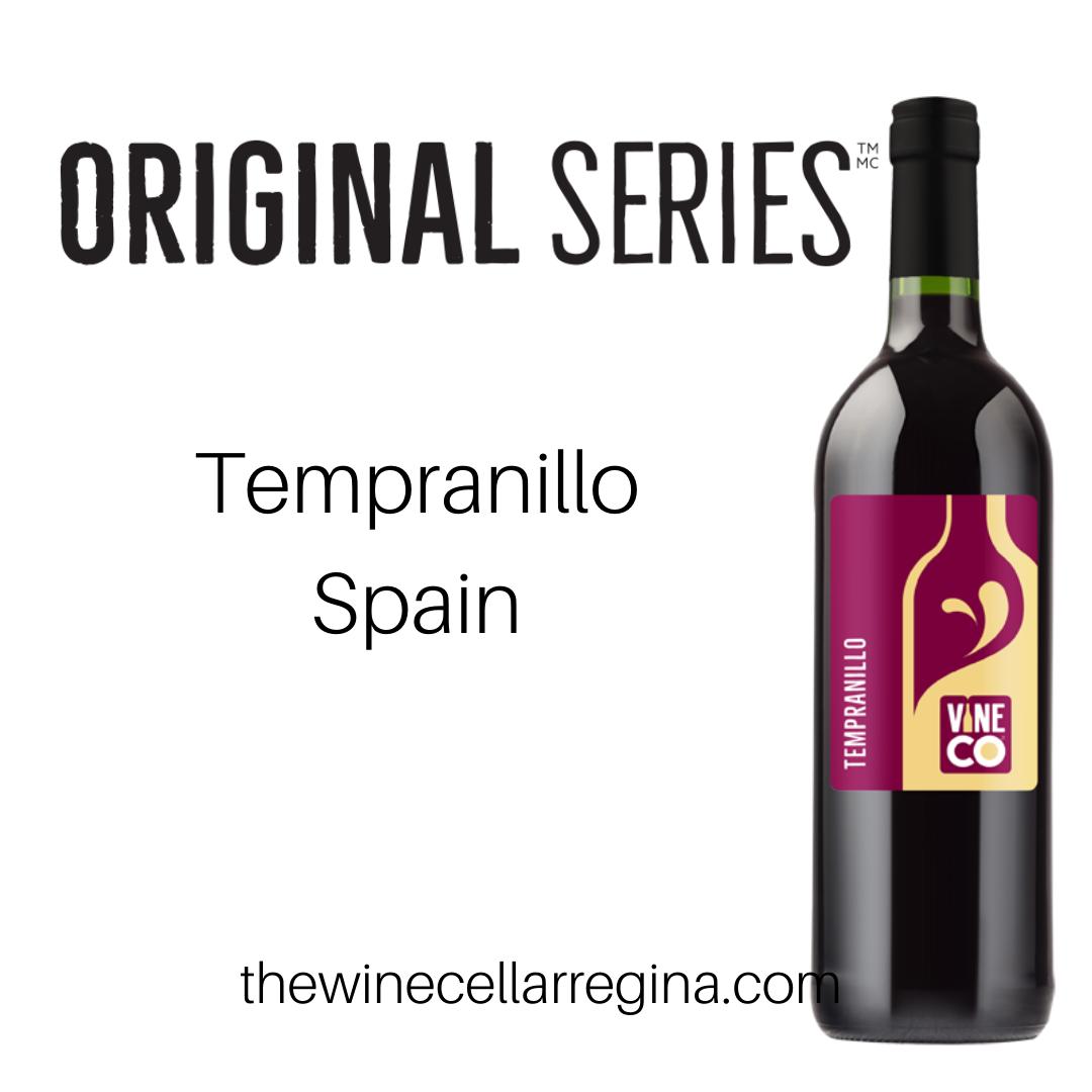 Original Series Tempranillo Spain Wine Kit.