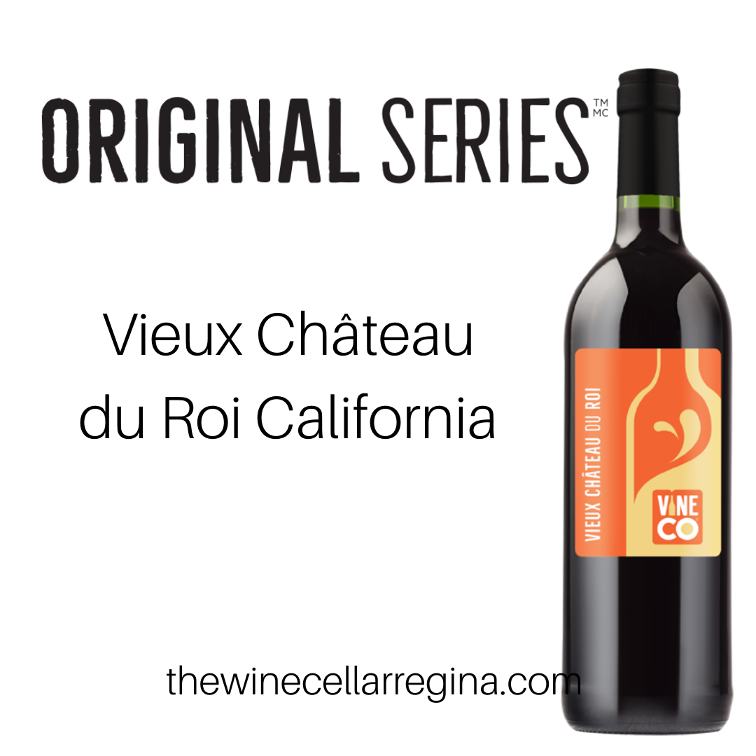 Original Series Vieux Château du Roi California Wine Kit.