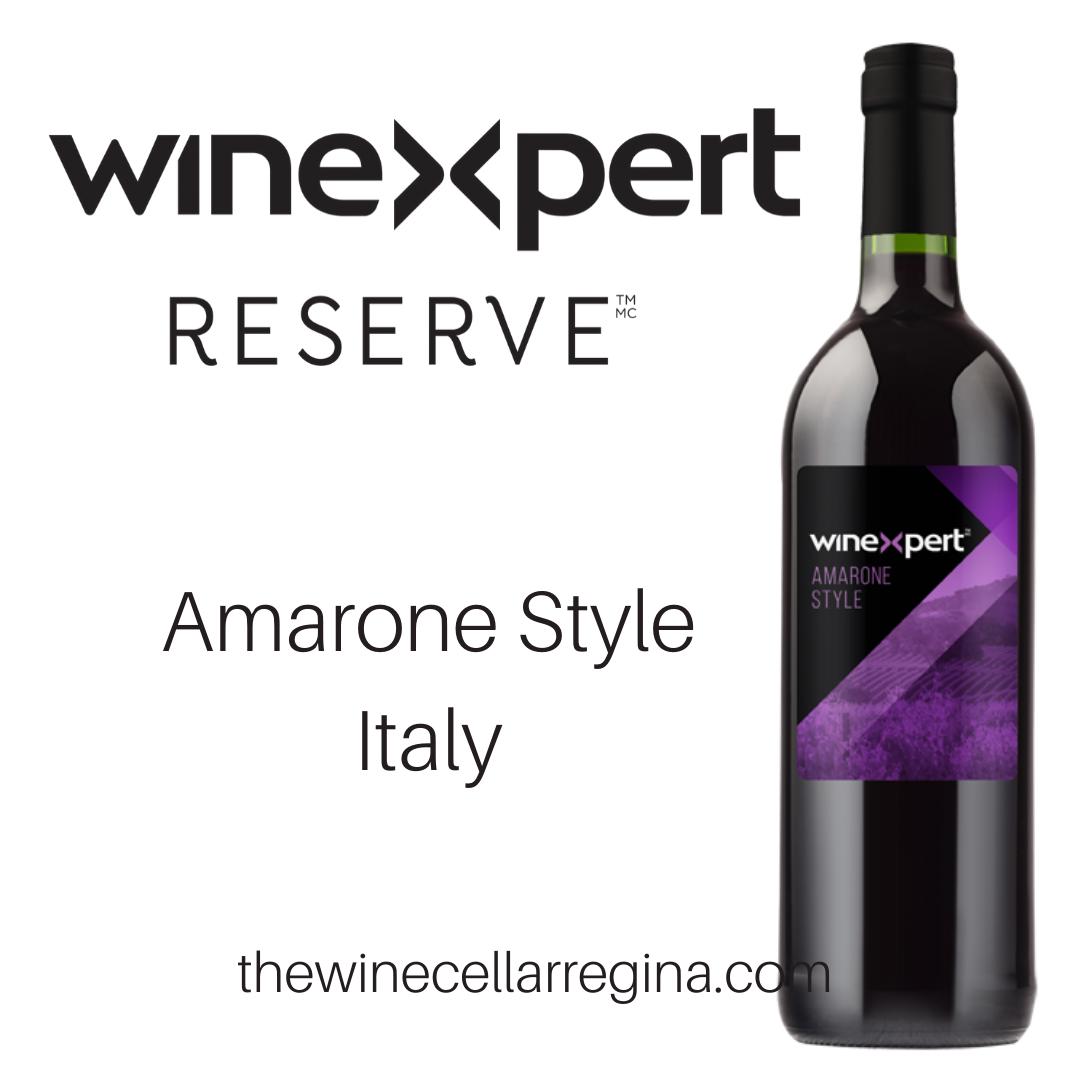 Reserve Amarone Style Italy Wine Kit.
