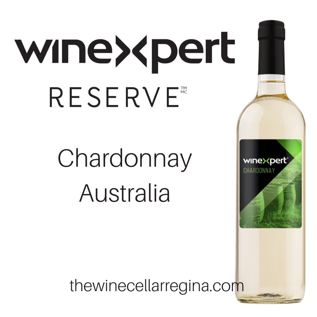 Reserve Chardonnay Australia Wine Kit.