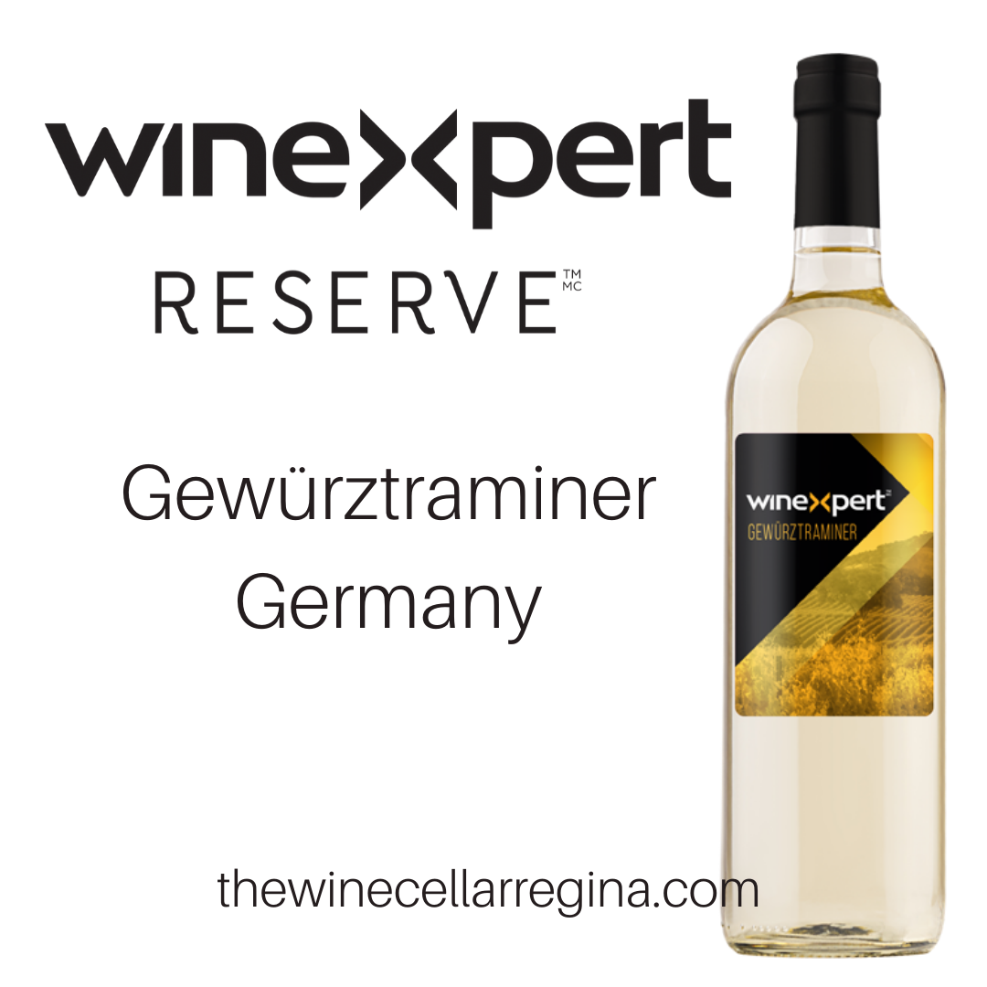 Reserve Gewürztraminer Germany Wine Kit.