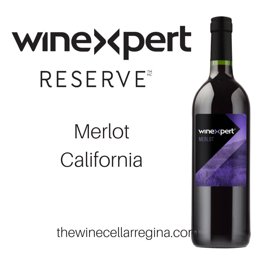 Reserve Merlot California Wine Kit.