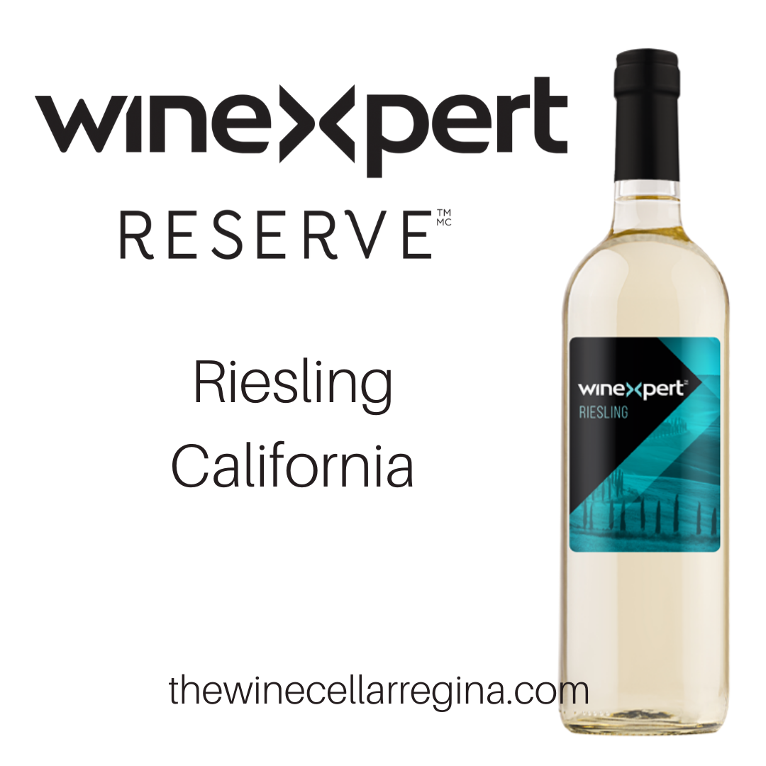 Reserve Riesling California Wine Kit.