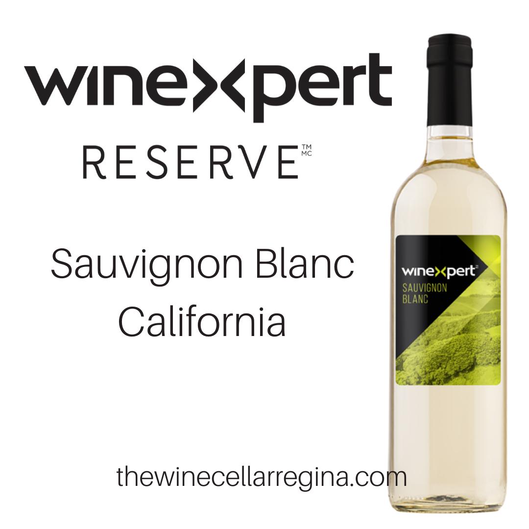 Reserve: Sauvignon Blanc California Wine Kit.