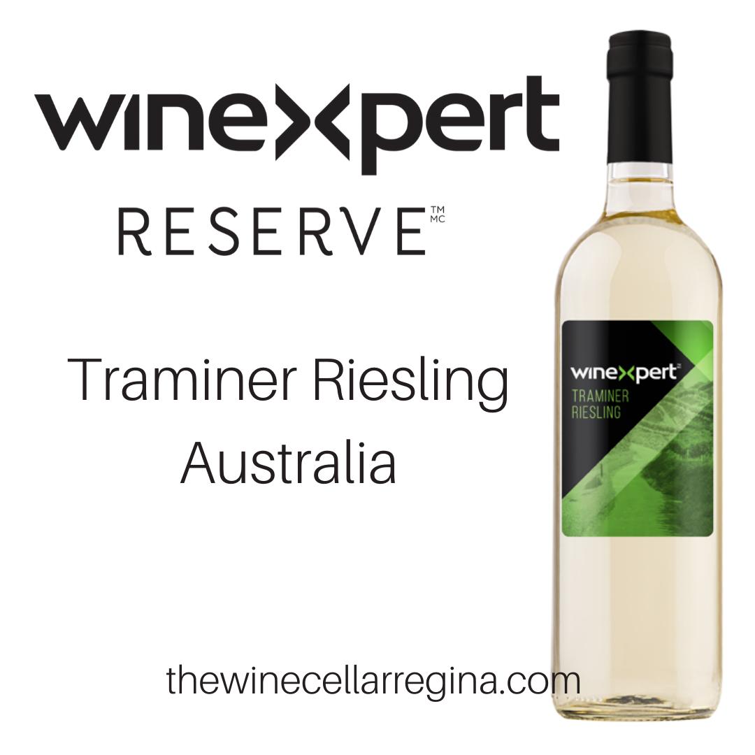 Reserve Traminer Riesling Australia Wine Kit.