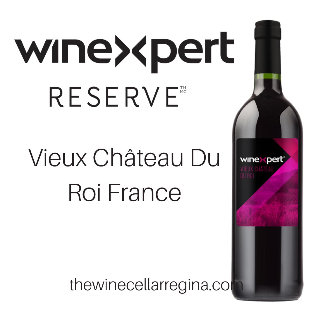 Reserve Vieux Château Du Roi France Wine Kit.