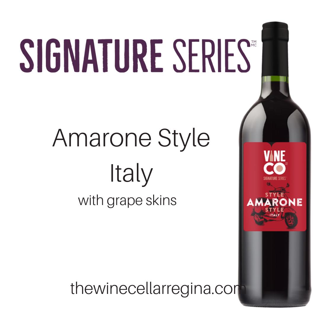 Signature Series Amarone Style Italy Wine Kit.