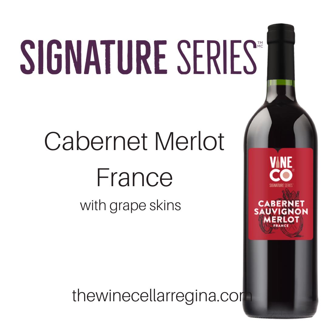 Signature Series Cabernet Merlot France Wine Kit