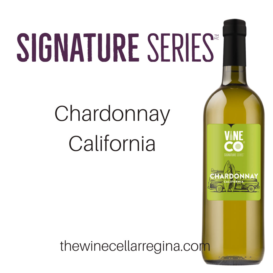Signature Series Chardonnay California Wine Kit.