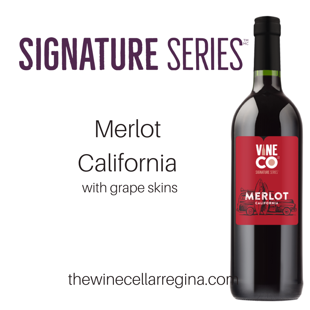Signature Series Merlot California Wine Kit.