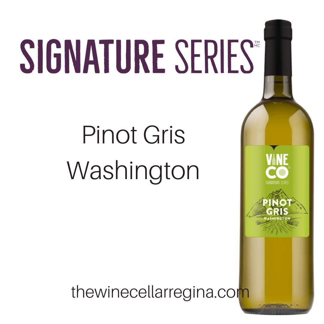 Signature Series Pinot Gris Washington Wine Kit.