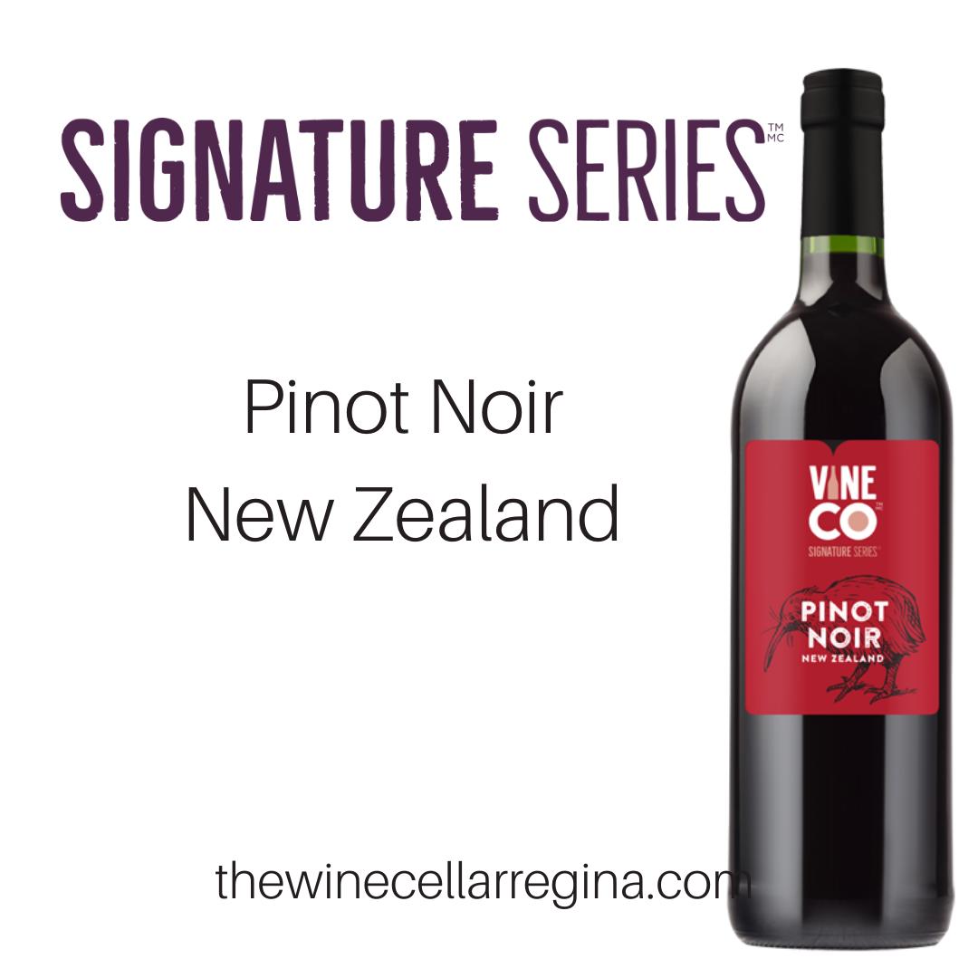 Signature Series Pinot Noir New Zealand Wine Kit.