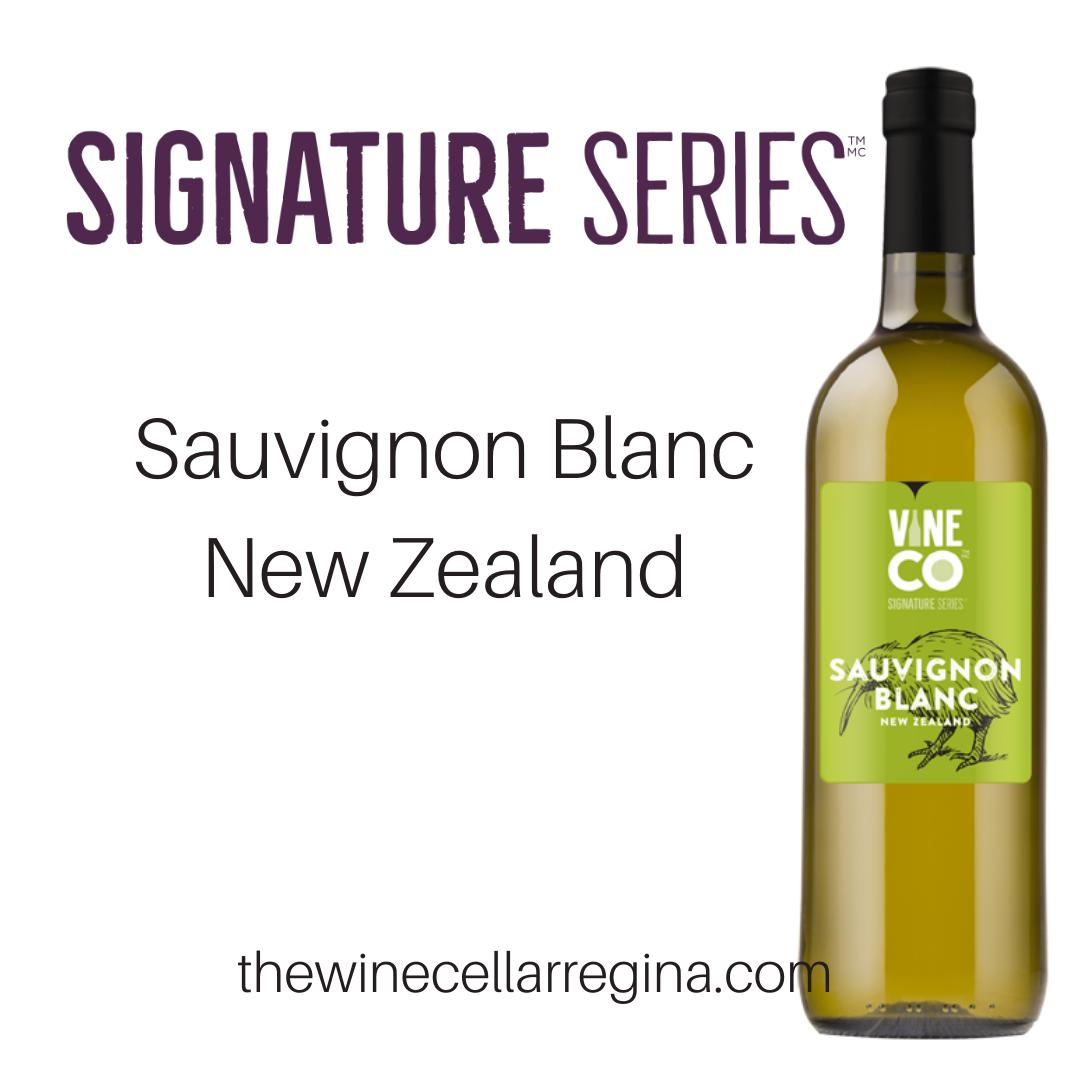Signature Series Sauvignon Blanc New Zealand Wine Kit.