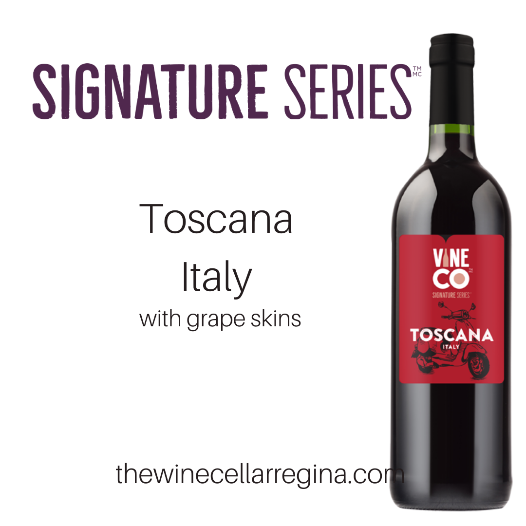 Signature Series Toscana Italy Wine Kit.