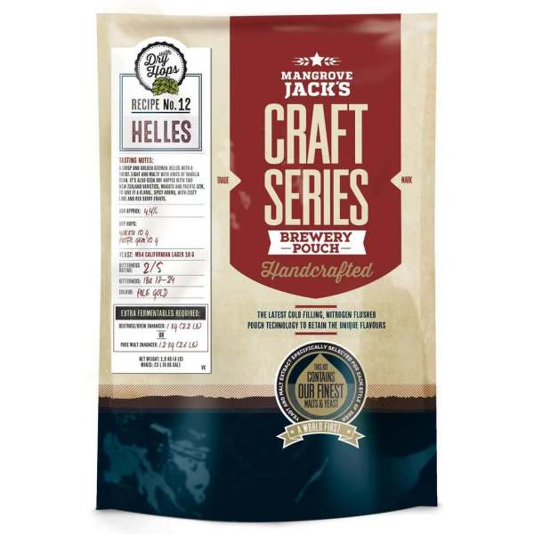 Helles with Dry Hops