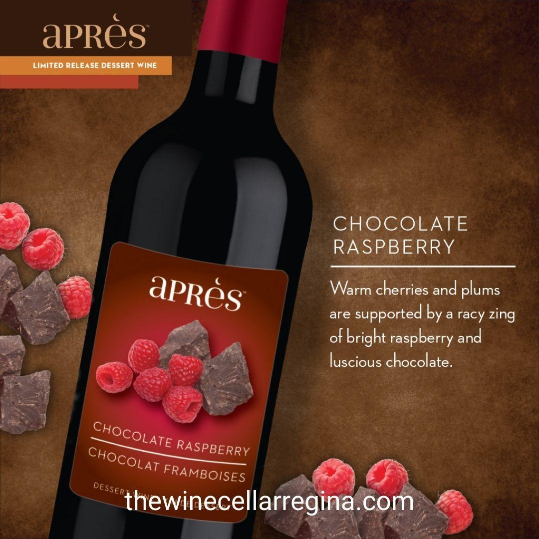 Après Limited Release: Chocolate Raspberry Dessert Wine