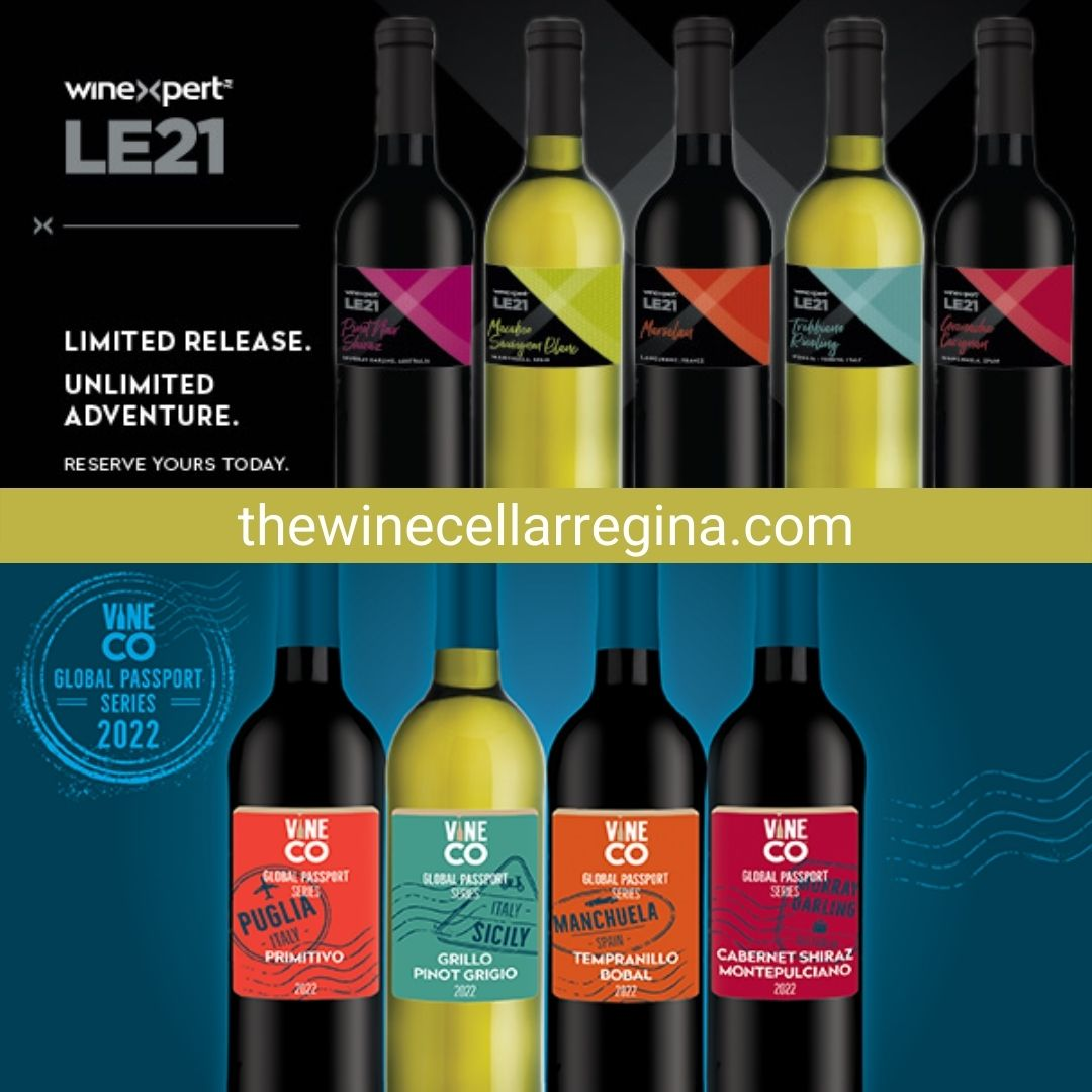 LE21 & GPS 2022 Limited Release Wines